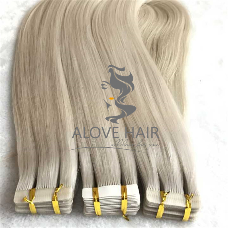 Best cuticle intact tape in hair extensions for thin hair