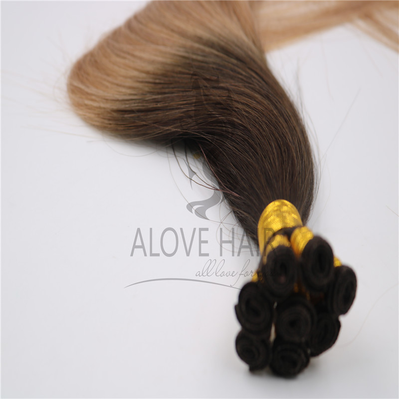 Best ombre hand tied wefts