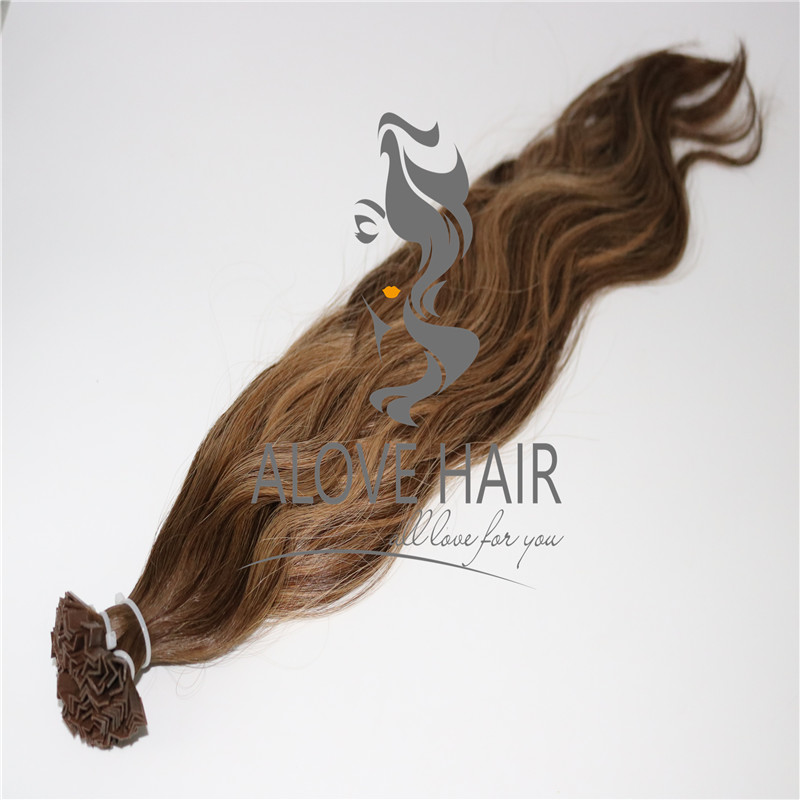China hair products supplier wholesale keratin tip hair extensions