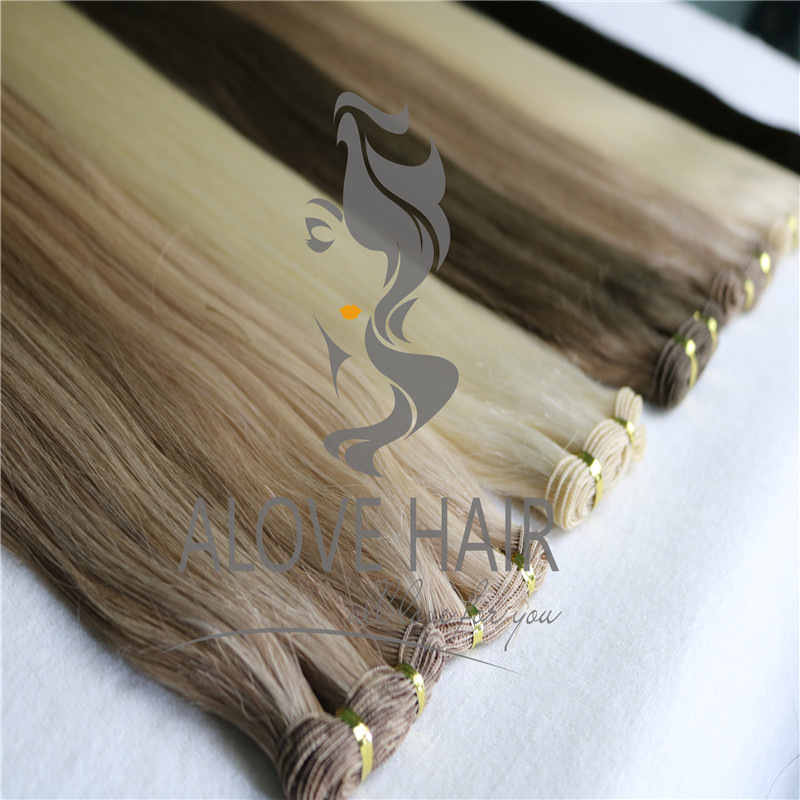 China hand tied wefts vendor service for Dallas hand tied wefts class