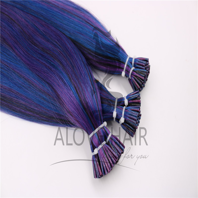 China i tip hair extensions human hair supplier