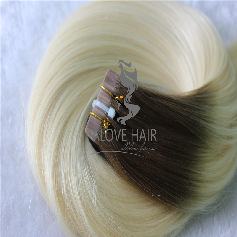 China ombre tape in hair extensions manufacturer