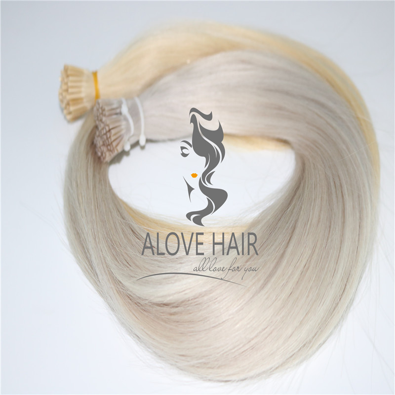China remy i tip hair extensions manufacturer