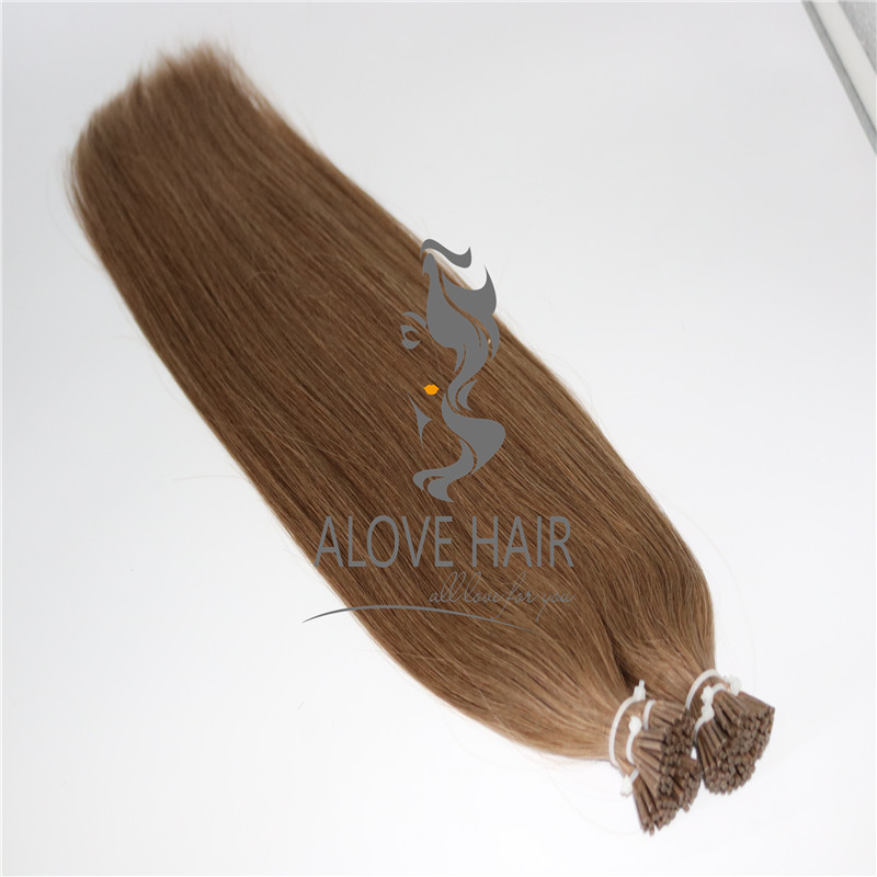 Cuticle intact remy i tip hair extensions canada