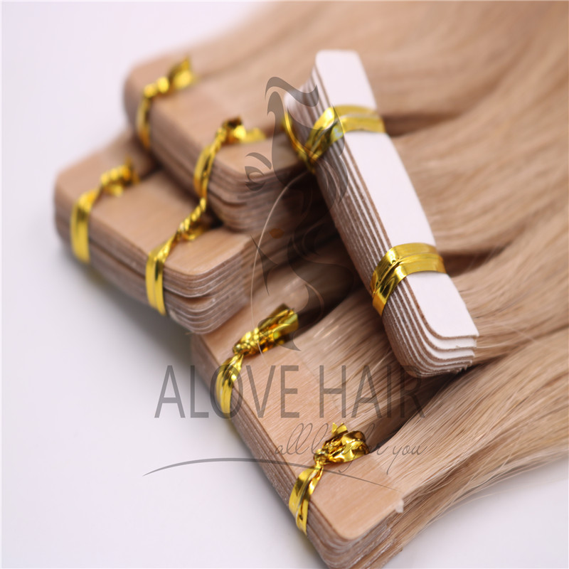 Cuticle intact remy tape in hair extensions melbourne Australia