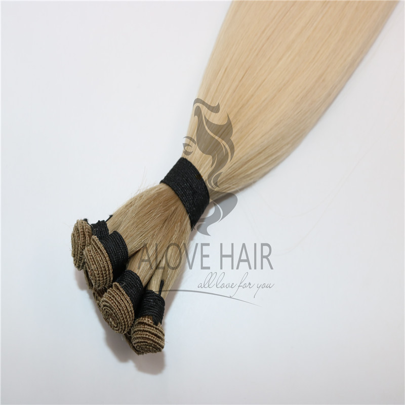 Finest quality hand tied hair extensions