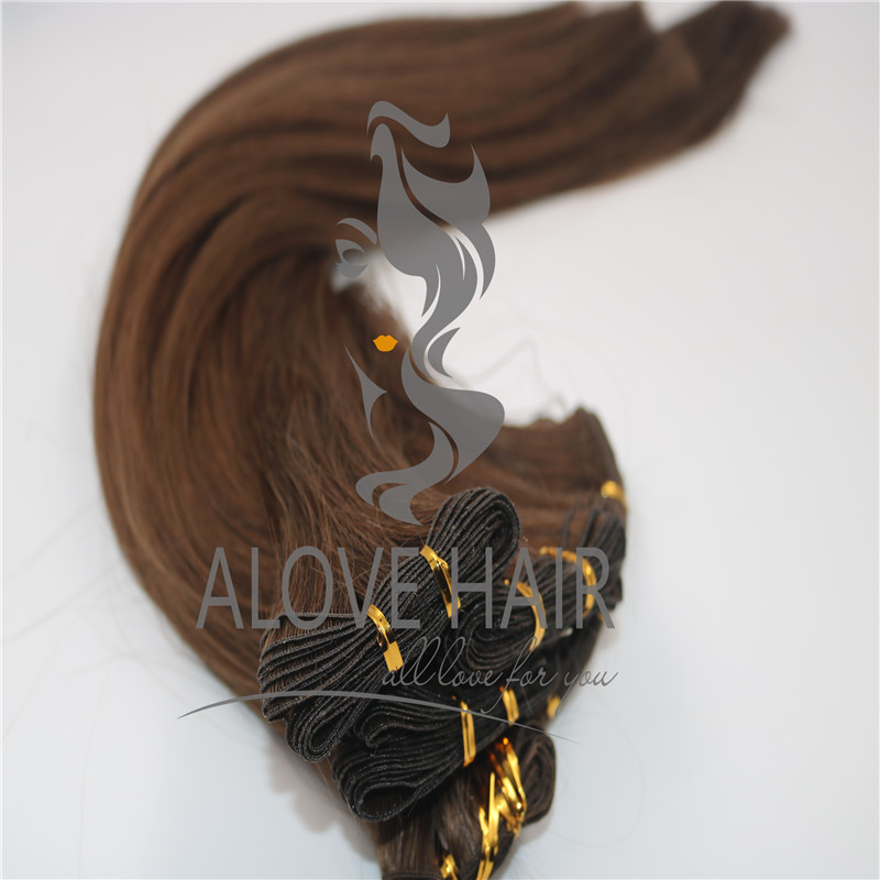 Full cuticle hand tied hair extensions sydney