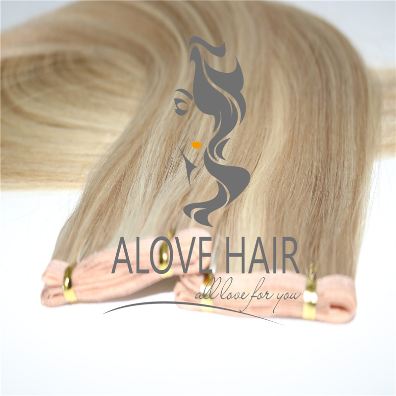 High quality flat weft hair extensions manufacturer in China