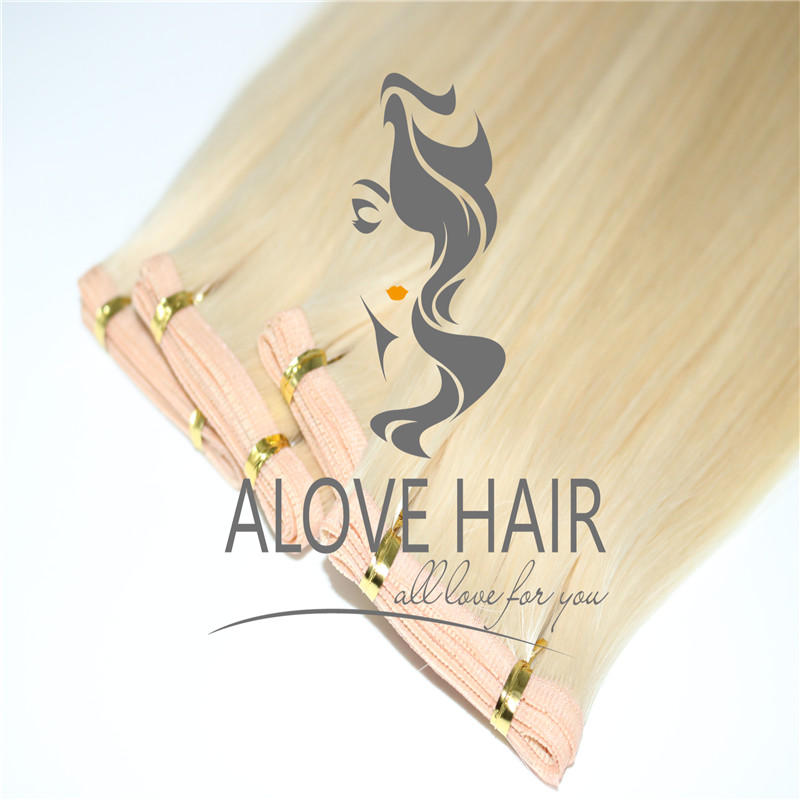 How To Attach Flat Weft Hair Extensions