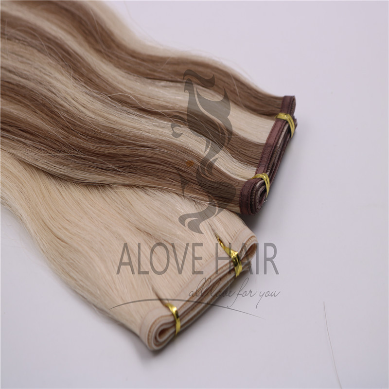 Silicone free seamless flat weft