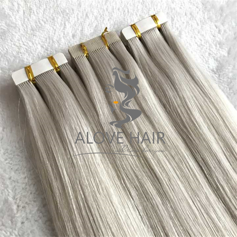 The best real remy human hair tape in extensions manufacturer