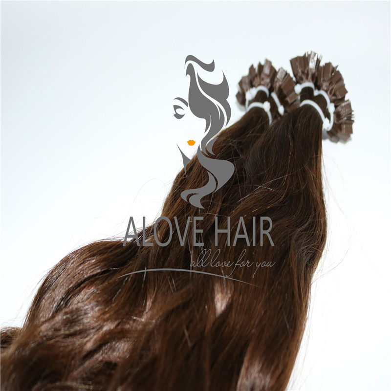 V tip fusion hair extensions supplier in China