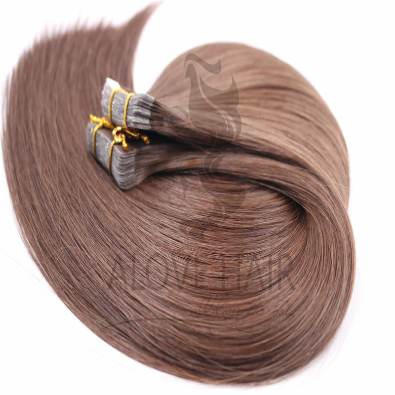 Wholesale double drawn tape extensions hair UK