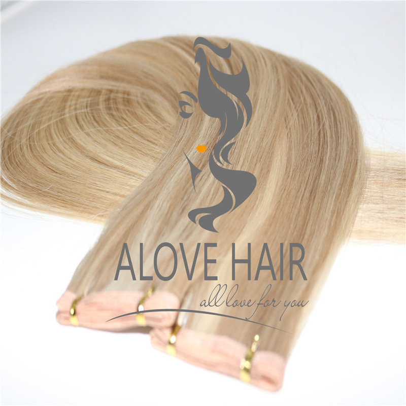 Wholesale seamless skin weft hair extensions