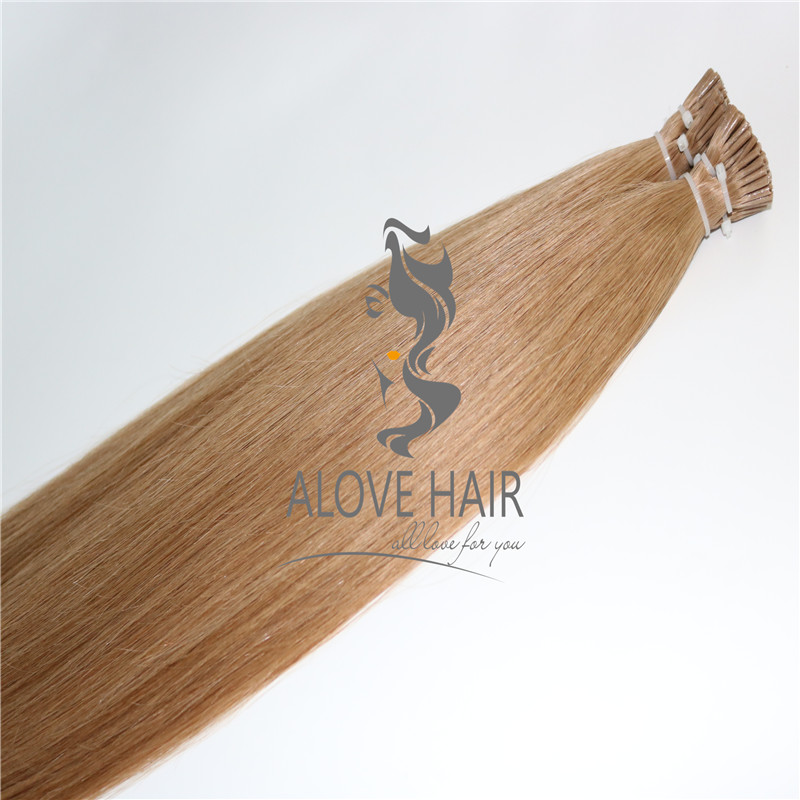 High quality No silicone i tip hair extensions uk
