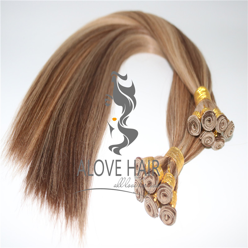 Hand tied wefts hair extensions wholesale.jpg