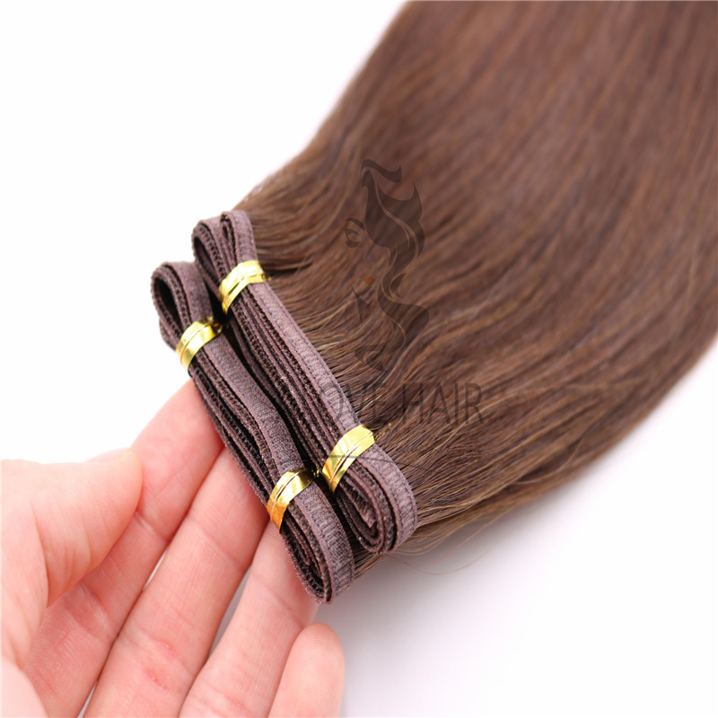 Wholesale double drawn flat weft california