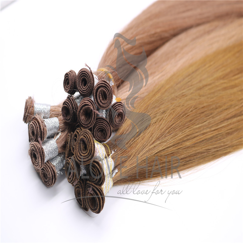 Cuticle intact remy hand tied hair extenisons florida