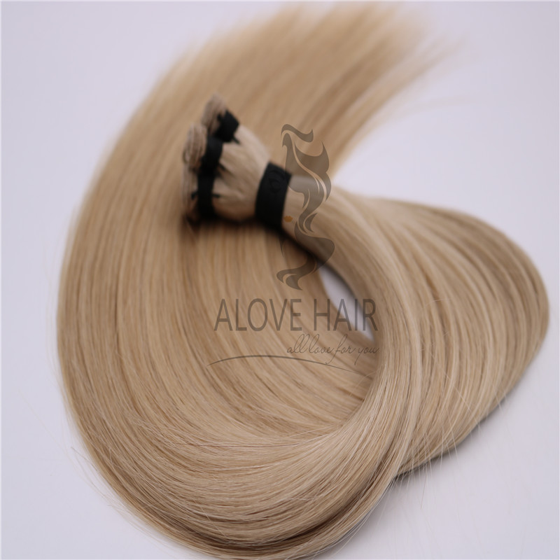 Luxury Hand Tied Weft Hair Extensions