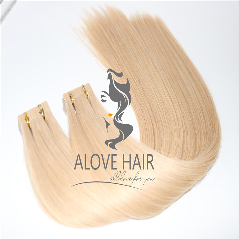 Wholesale best blonde color affordable tape in extensions