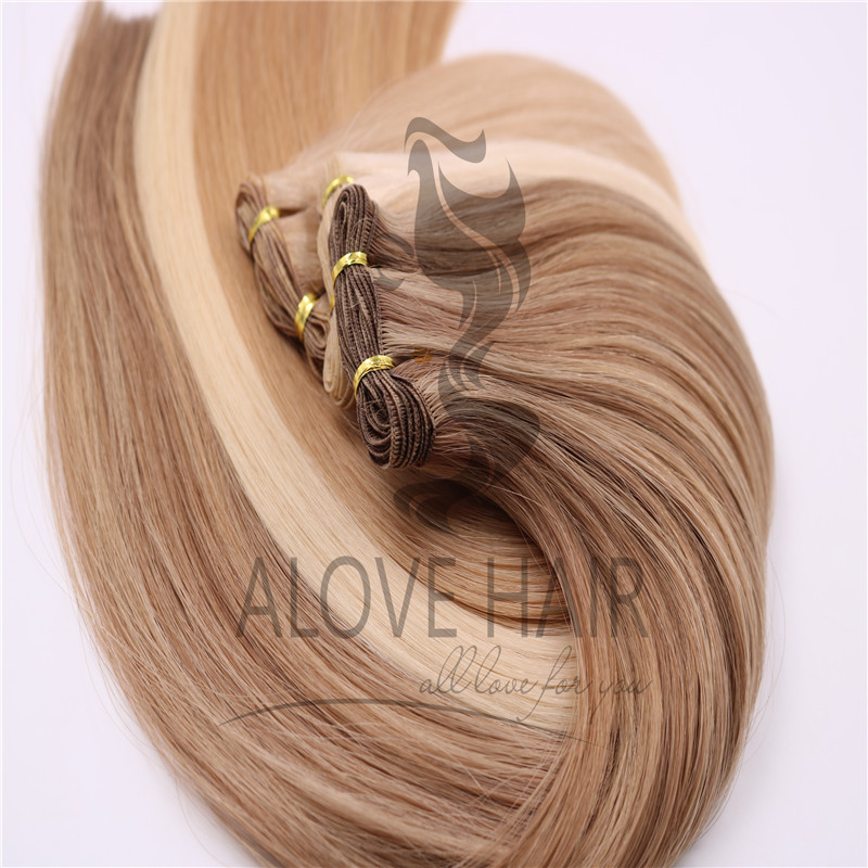 hand tied extension arizona different color