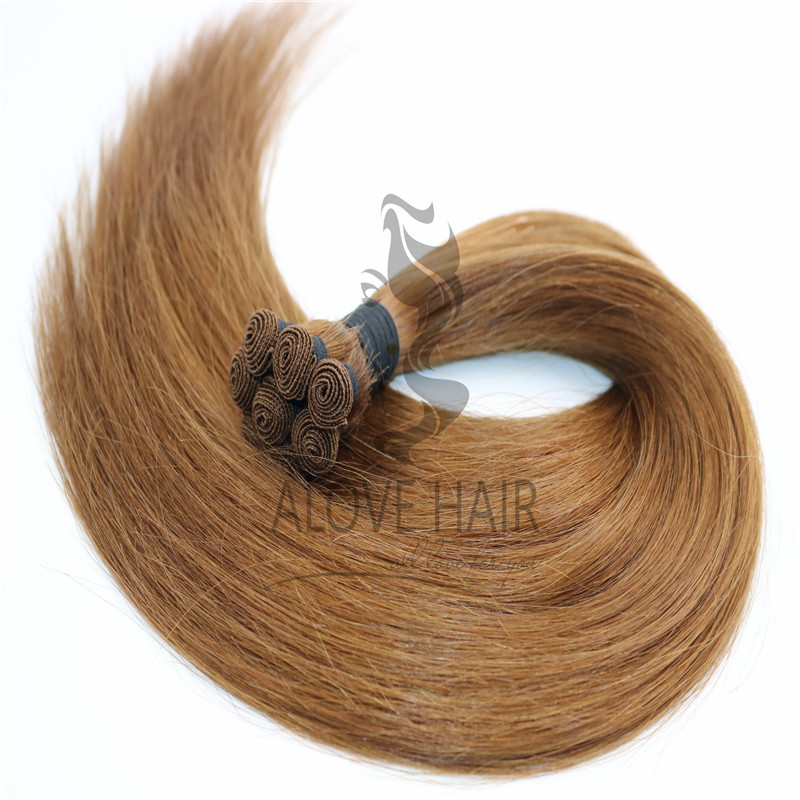 Why hand tied wefts are so popular for USA hair salon and hair stylists ?
